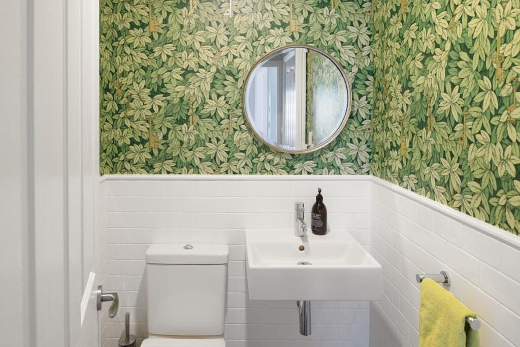 Bathroom, built by Brisbane custom-home builder Bluebird